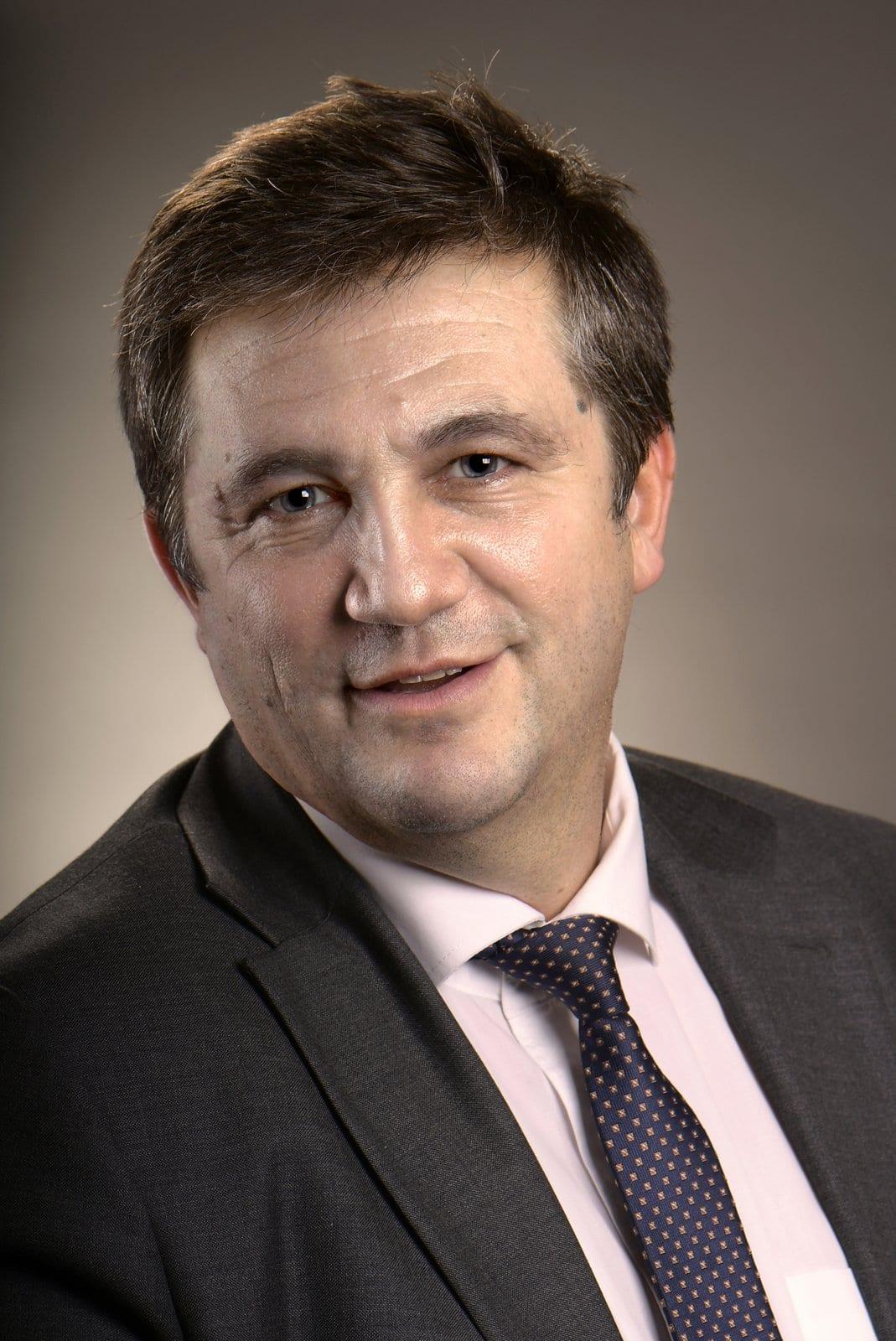 Laurent Bouschon, PDG de Cofintex