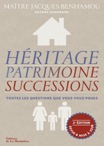 livre h ritage patrimoine succession de jacques benhamou silver economie. Black Bedroom Furniture Sets. Home Design Ideas