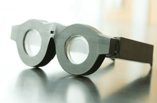 Lunettes intelligentes contre la presbytie