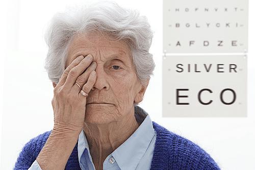 Baisse de la vision chez les personnes âgées