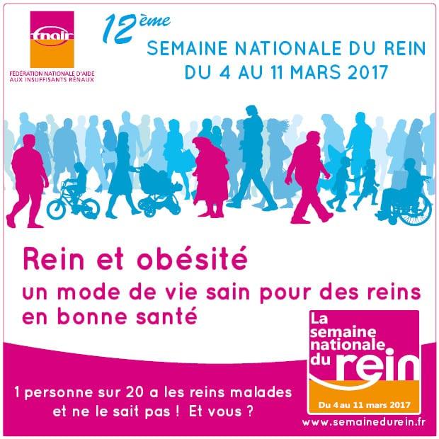 Semaine Nationale du Rein 2017