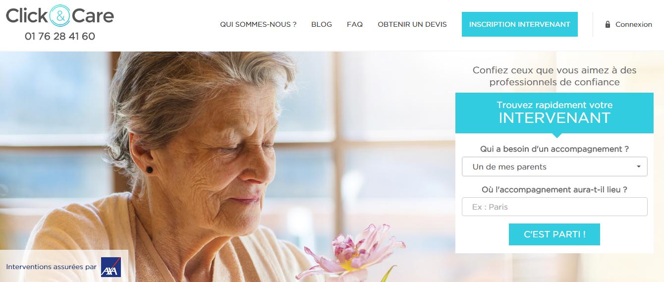 Site internet Click&Care