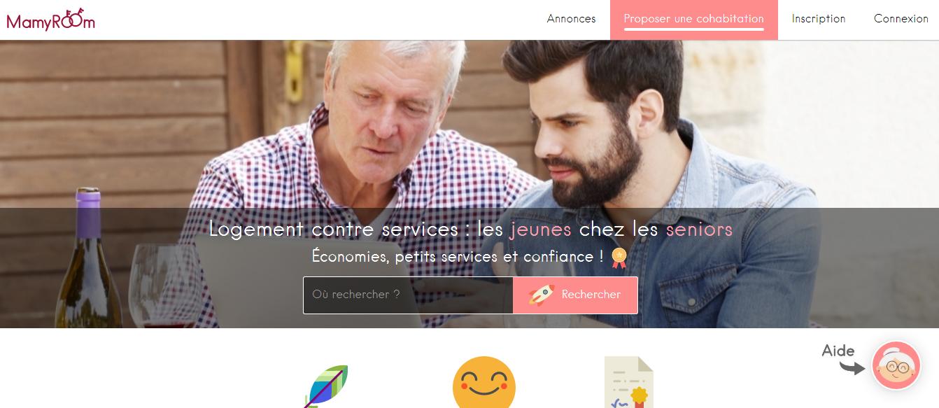 Site internet Mamyroom
