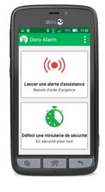 Doro Alarm Application