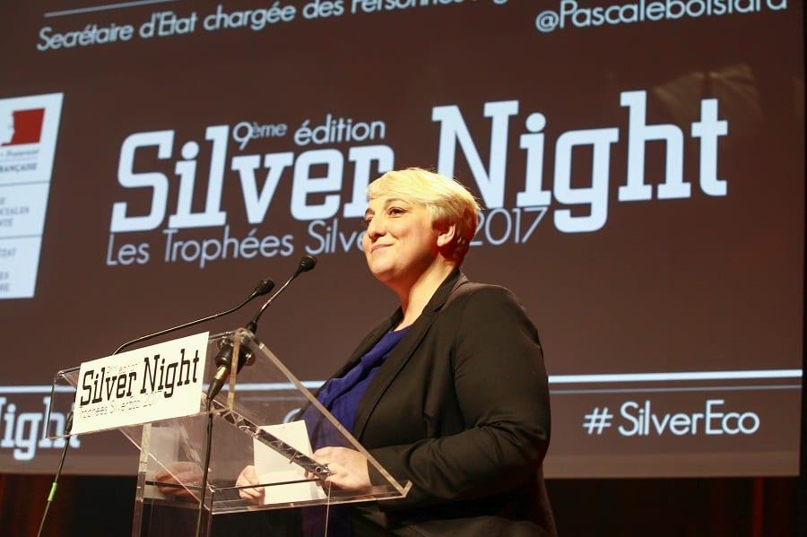 Pascale Boistard à SilverNight - Prix de la Ministre