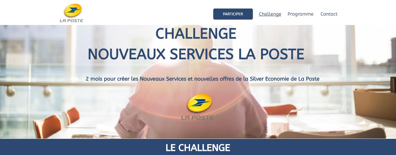 Challenge Nouveaux Services La Poste