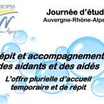 10 mai 2017 : «Répit et accompagnement des aidants et des aidés» à Lyon