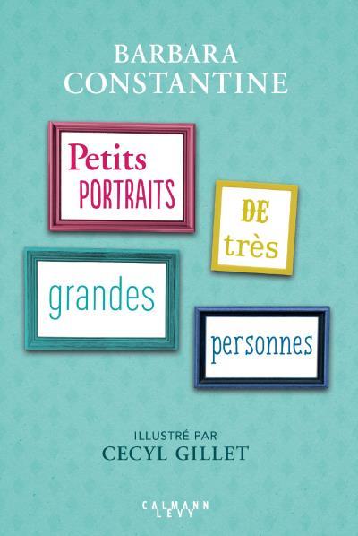 Livre Petits Portraits de très grandes personnes