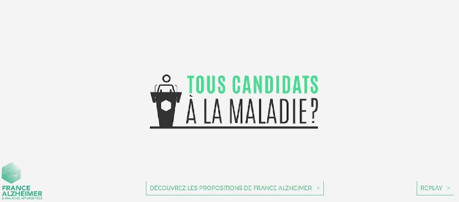 Tous candidats à la maladie - France Alzheimer
