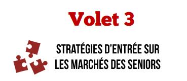 Volet 3 - Stratégies d'entrée sur les marchés des seniors