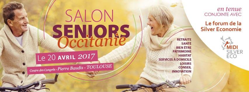 Le salon seniors occitanie se tiendra le 20 avril 2017 for Salon des seniors 2017