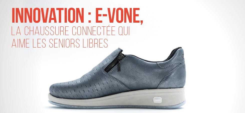 Chaussure connectée E-Vone