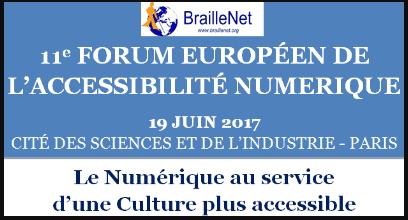 11ème Forum européen de l'accessibilité numérique
