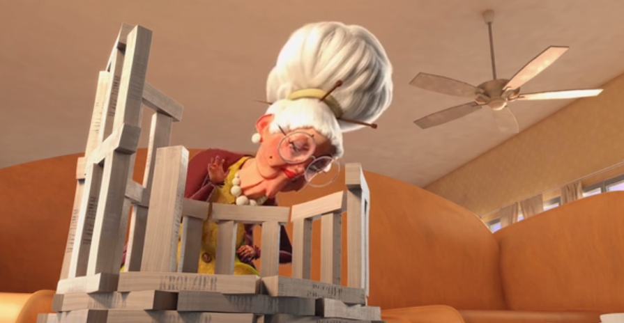 Jamais sans mon dentier - Court métrage animation