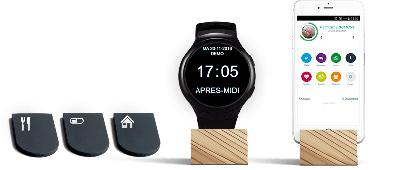 Lili Smart Application Montre