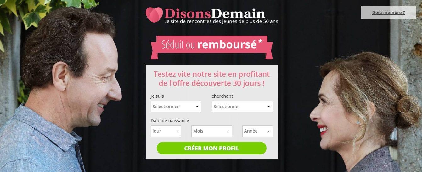 Site de rencontres Disons demain - Meetic