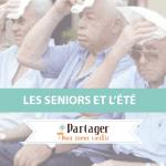 Infographie Les seniors et l'été - Une