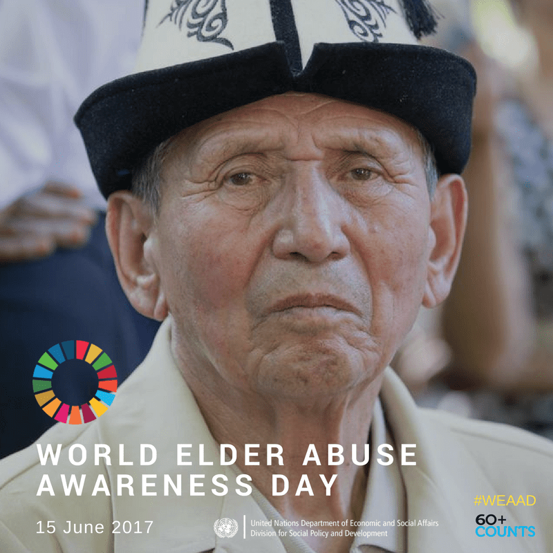 Journée mondiale de lutte contre la maltraitance des personnes âgées