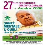 Save the date : les 27e Rencontres gérontologiques se tiendront les 5 et 6 octobre 2017