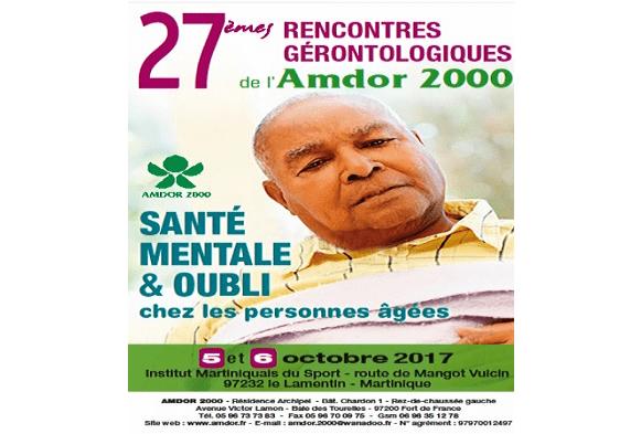 27èmes Rencontres gérontologiques de l'AMDOR