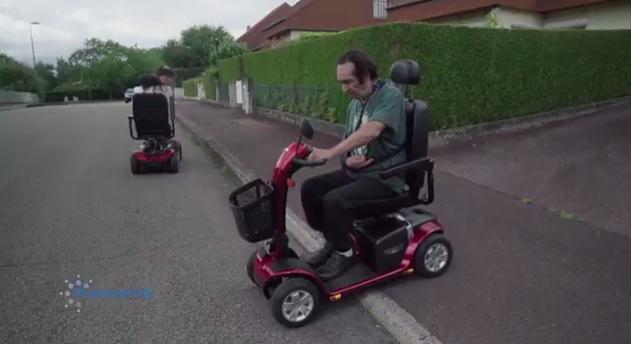 Scooters médicalisés en test - Autonom'Lab