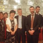 Délégation française et représentants des institutions chinoises à l'occasion de CISSE Pékin