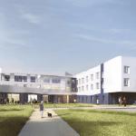 Hôpital et EHPAD de Belley : une architecture pensée pour le confort des résidents