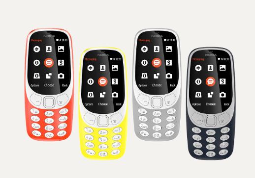 Nokia 3310 - Couleurs