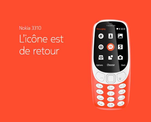 Retour Vers Le Futur Le Nouveau Nokia 3310 Est Il Le Telephone