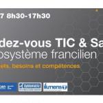 RDV le 12 septembre 2017 à l'Université Paris Descartes pour la 15e Réunion Plénière TIC & Santé