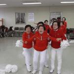 Quand des grands-mères Sud-Coréennes se transforment en pom-pom girls !