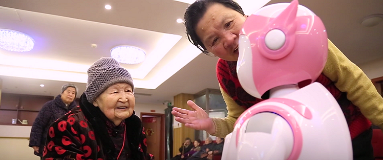 Robots en Chine