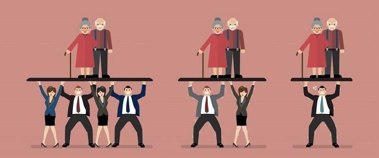 Statistiques Insee : le vieillissement de la population à l'échelle régionale