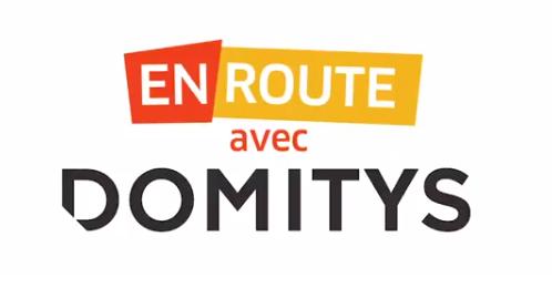 En route avec Domitys - Logo