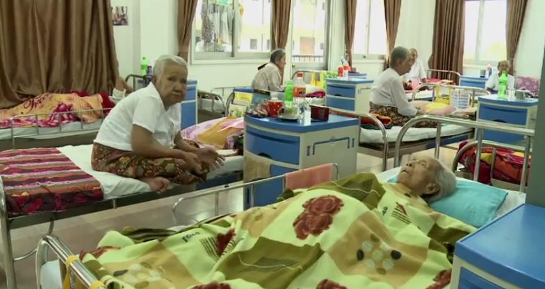 Personnes âgées - Birmanie - AFP