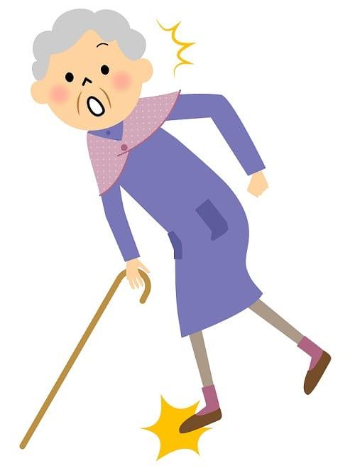 Chute de la personne âgée - Prévenir les chutes - Chute des seniors