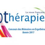 Le concours annuel des mémoires en ergothérapie est ouvert !