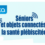 Infographie seniors et objets connectés