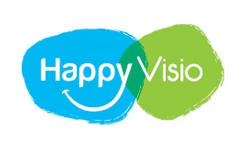 Logo happy visio