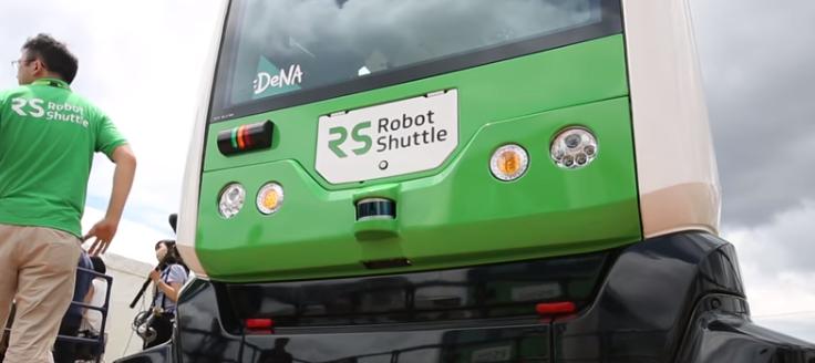 Robot shuttle - Navette autonome - Japon