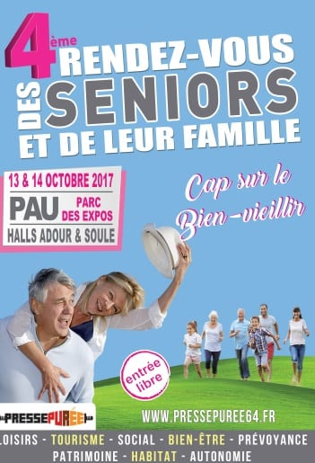 Salon des seniors Pau 2017