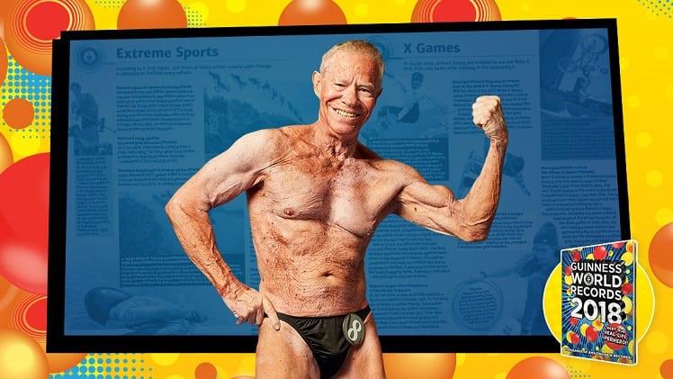 Jim Arrington le plus vieux bodybuilder au monde