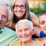 Accueil familial - Famille - Intergénérationnel - Petits-enfants