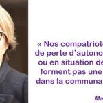 Le SYNERPA salue l'élection de Marie-Anne Montchamp en qualité de Présidente de la CNSA