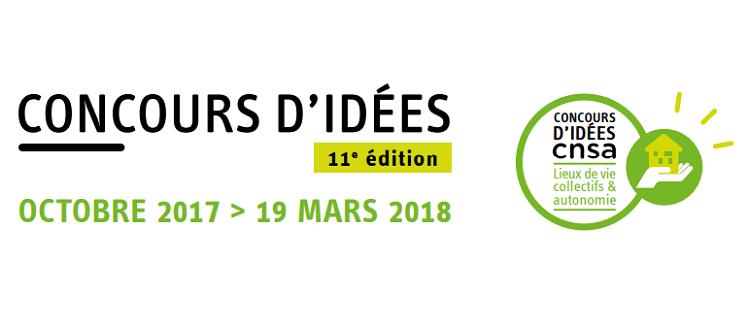 Concours d'idées CNSA 2018