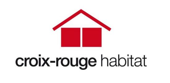 Logo croix rouge habitat