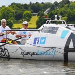 Quinquatlantic Challenge : 2 seniors à l'assaut de l'Atlantique… à la rame !