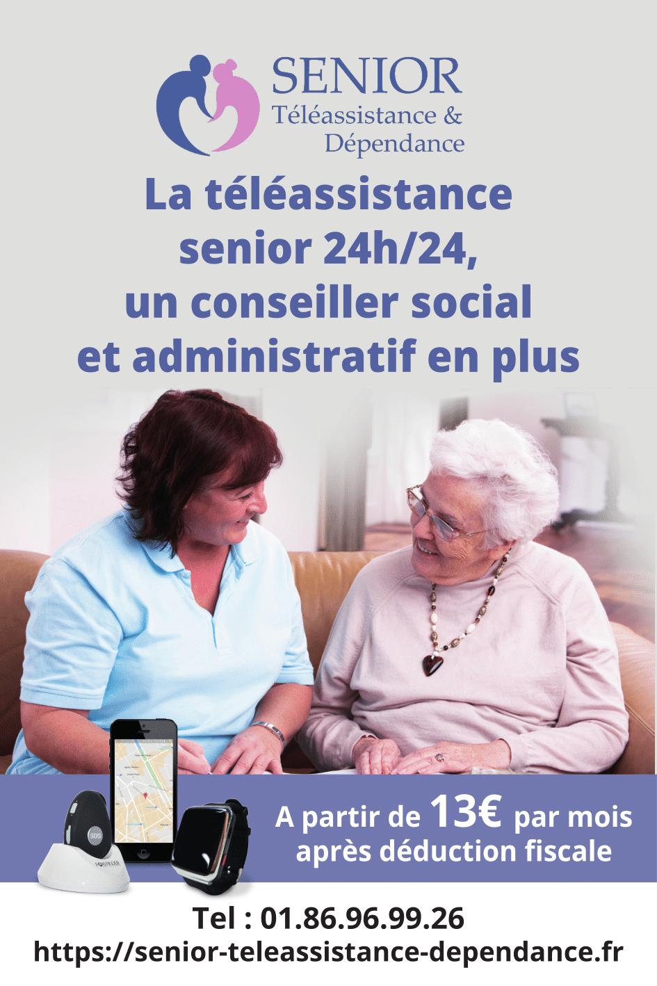 Senior Téléassistance et dépendance
