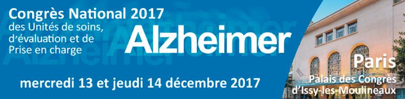 Congrès National 2017 des unités de soins Alzheimer @ Palais des Congrès | Issy-les-Moulineaux | Île-de-France | France