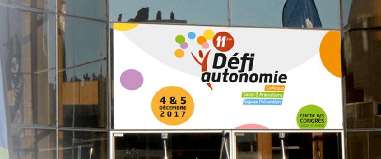 Venez relever le Défi Autonomie les 19 et 20 novembre prochain au Centre de Congrès de Saint Etienne